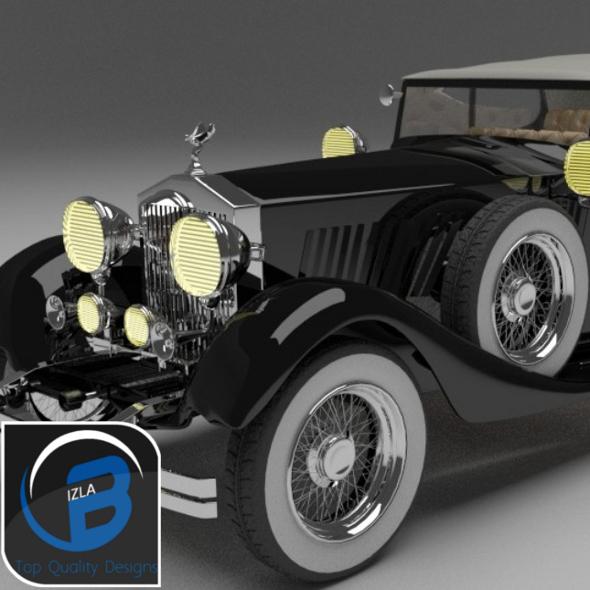3DOcean Rolls Royce Phantom MkII 1928 3507247