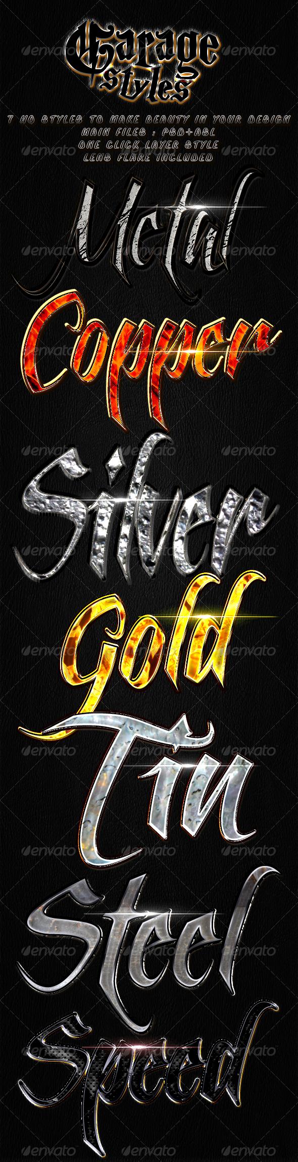 GraphicRiver Garage = Styles = 3507709