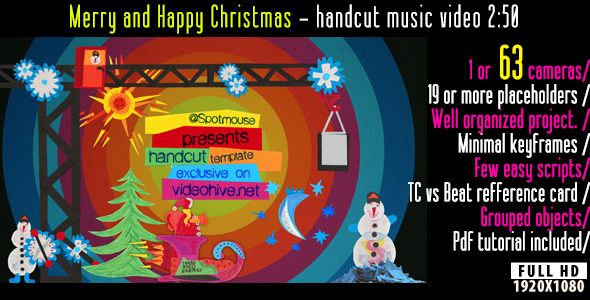 VideoHive Merry and Happy Christmas 3508190