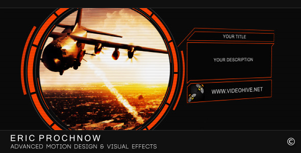 After Effects Project - VideoHive Orange Interface 3185326