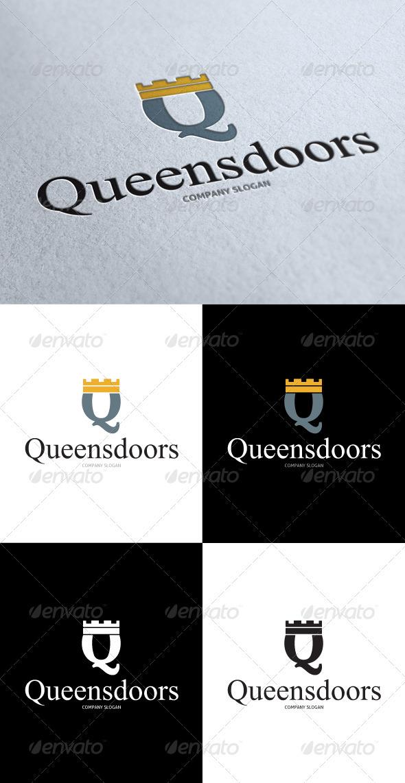 GraphicRiver Queen Doors Logo 3509168