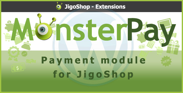 MonsterPay Payment Gateway untuk JigoShop - WorldWideScripts.net Item for Sale
