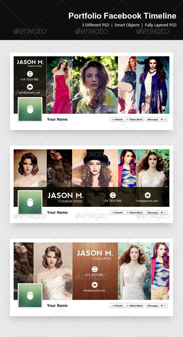 Portfolio Timeline - Facebook - Facebook Timeline Covers Social Media