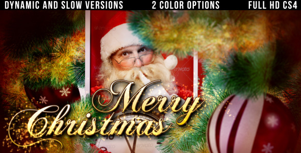 VideoHive christmas slideshow 3509654