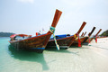 Boat on the Beach in Thailand - PhotoDune Item for Sale