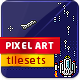cosmo pixel art scene for game - GraphicRiver Item for Sale