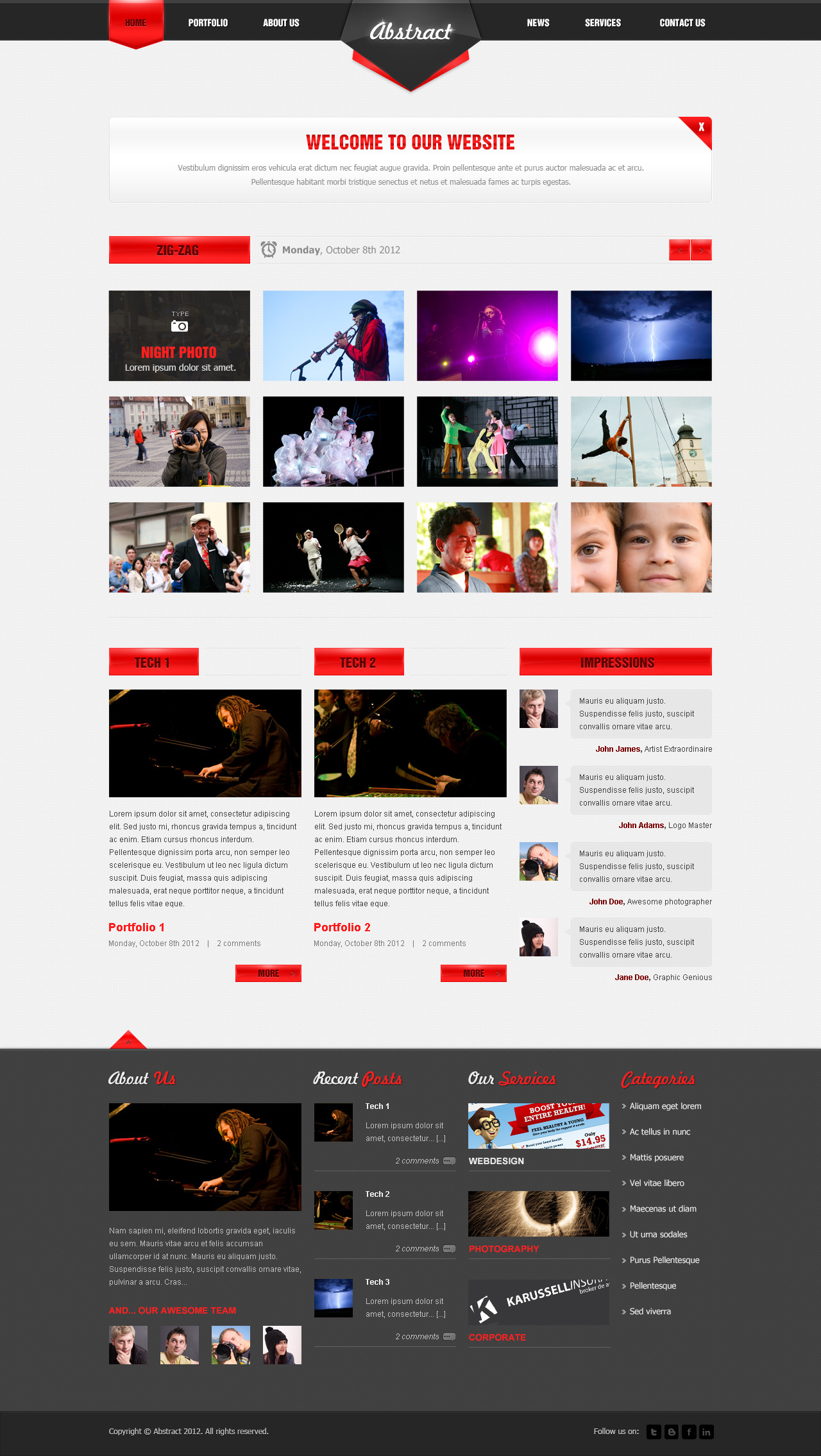 Abstract - Portfolio Design