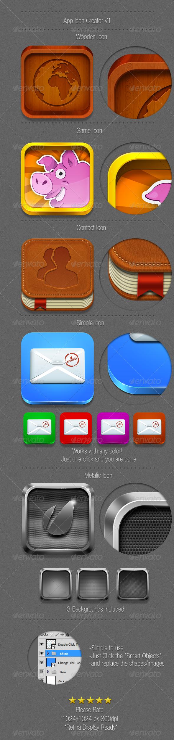 GraphicRiver Retina Ready-App Icon Creator 3510423