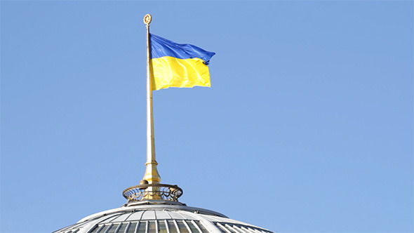 VideoHive Flag Of Ukraine 3510515