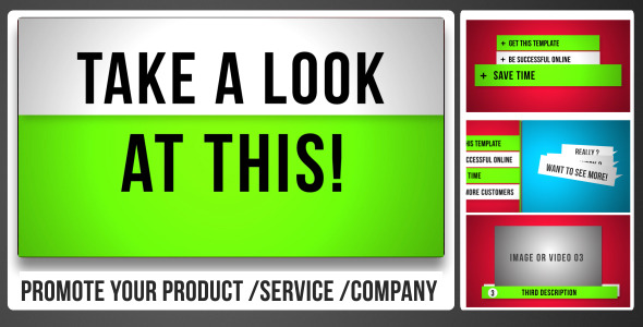 VideoHive Promote Your Product Service or Company 3469377