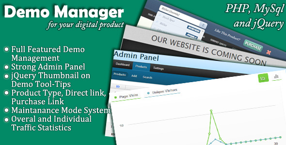 CodeCanyon Digital Product Demo Manager 3510936