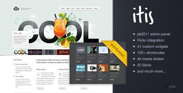 ThemeForest WordPress Itis Theme 376677