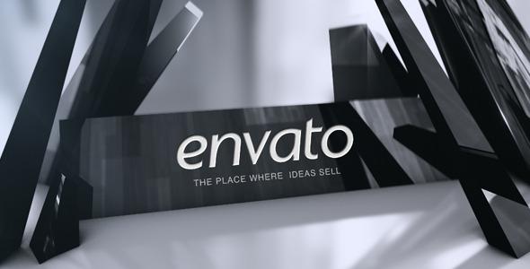 VideoHive Black Crystal Logo 3511477