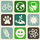 Seamless Pattern with Ecology Signs and Symbols - GraphicRiver Item for Sale