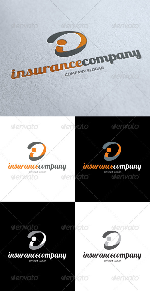 GraphicRiver Insurance Company Logo 3511564