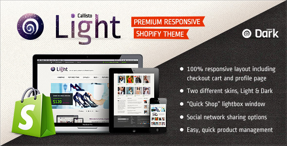 ThemeForest Callisto for Shopify Premium Responsive Theme 3046802