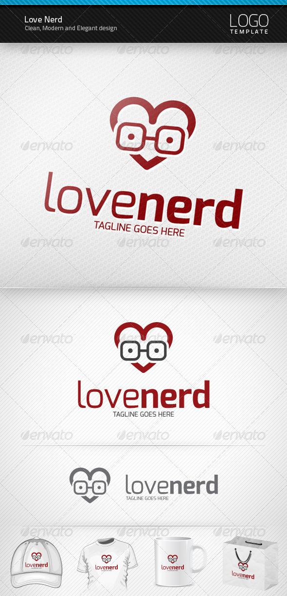 Love Nerd Logo - Symbols Logo Templates
