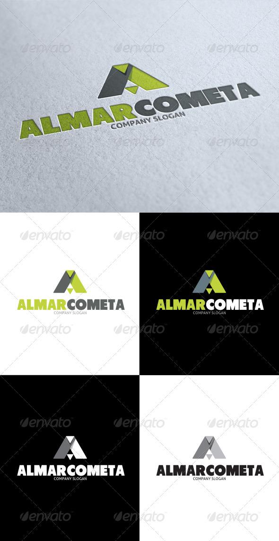 GraphicRiver Almar Cometa A Letter Logo 3512161