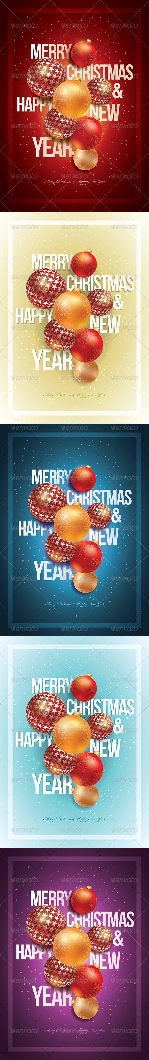 GraphicRiver Merry Christmas & Happy New Year 3514021