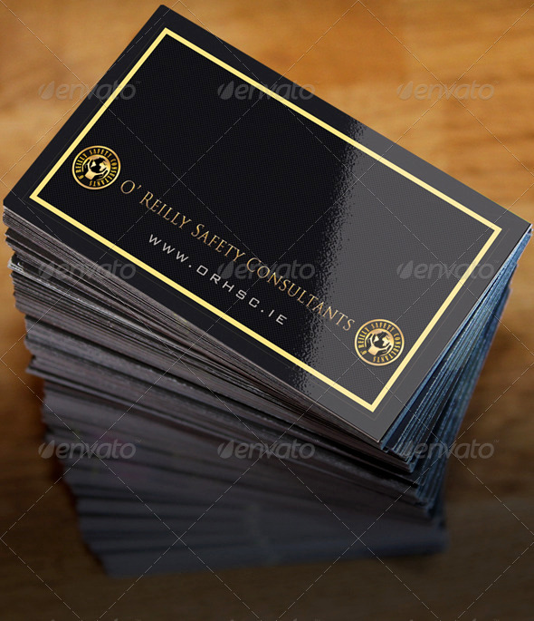 GraphicRiver Business Card Stack Mock Up 3514037