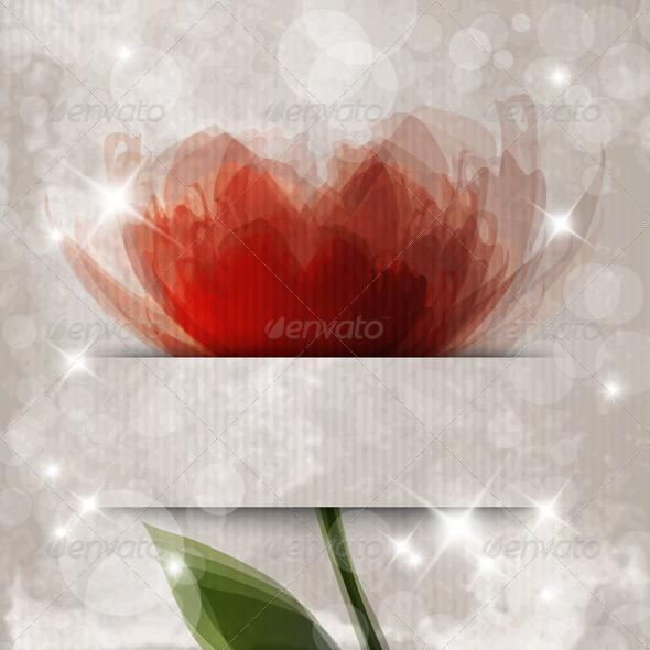 GraphicRiver Orange Flower 3489127