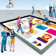 People Creating Digital Tablet Content - GraphicRiver Item for Sale