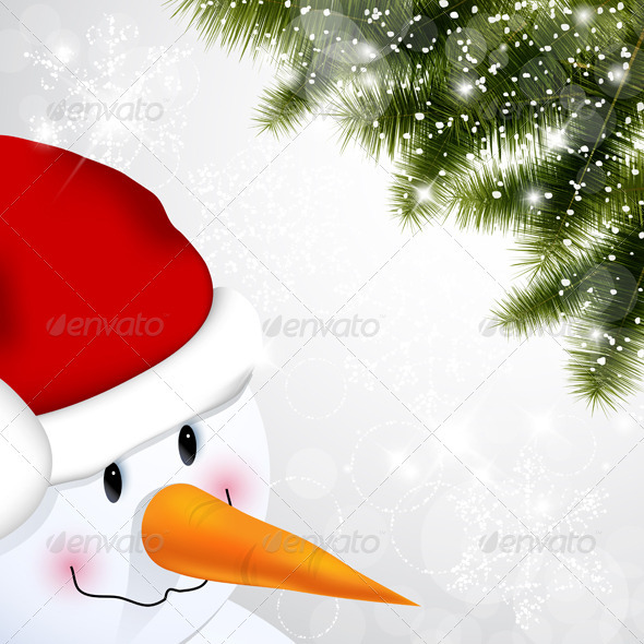 GraphicRiver Snowman 3515459