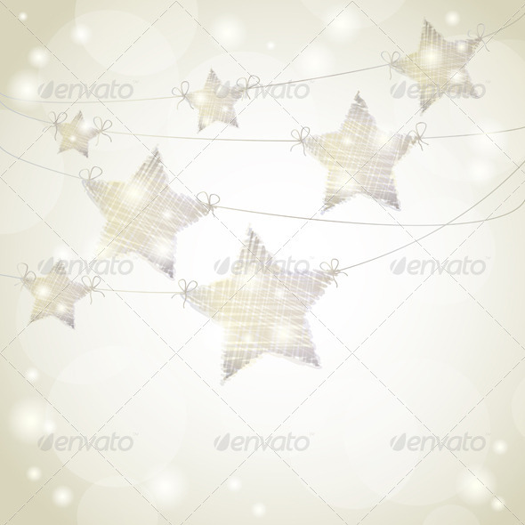 GraphicRiver Hanging Stars 3515471