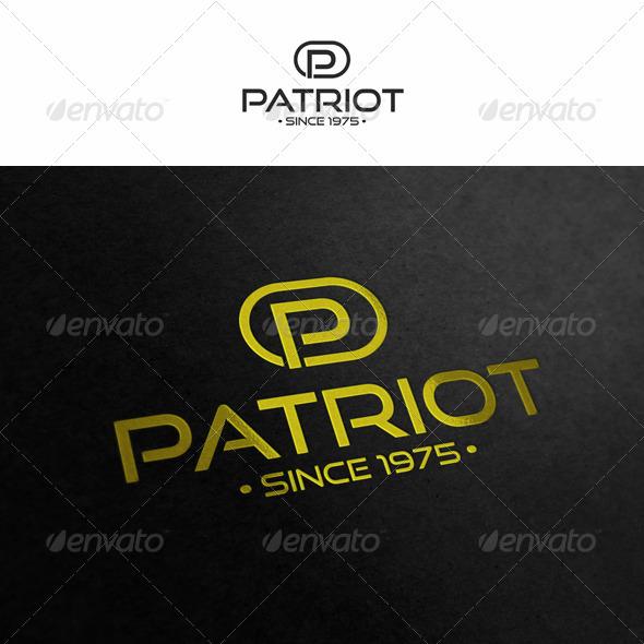 Patriot - Letter P - Letters Logo Templates