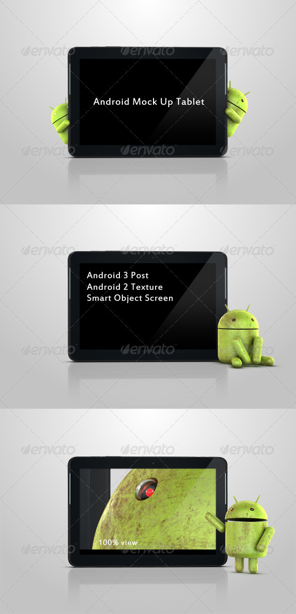 GraphicRiver Android Mock Up Tablet 3516933