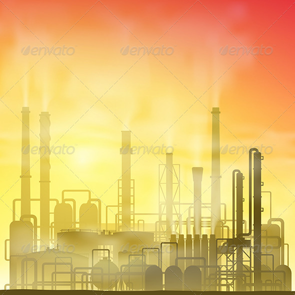 GraphicRiver Industrial Plant 3517188