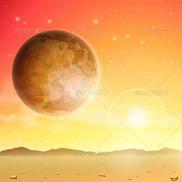 GraphicRiver Space Background 3517199
