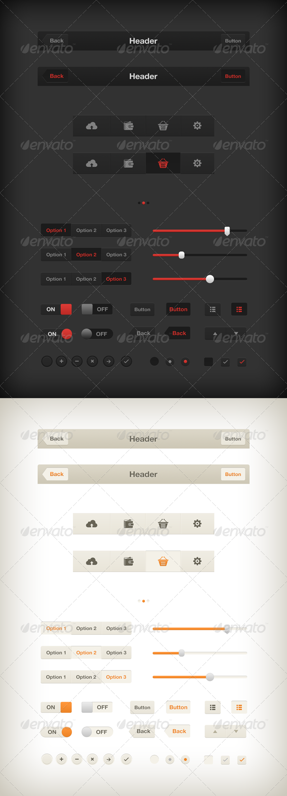 GraphicRiver iOS UI Kit 3471829