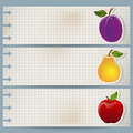Vintage Fruit Banners - PhotoDune Item for Sale