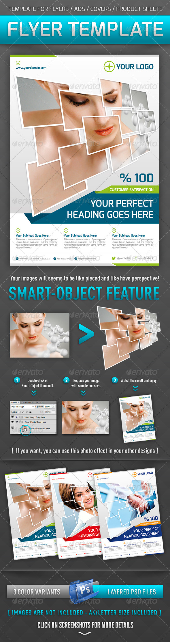 GraphicRiver Flyer Template 3339429