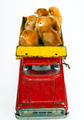 Trucking Chickens Baby Chicks in Toy Dump Truck - PhotoDune Item for Sale