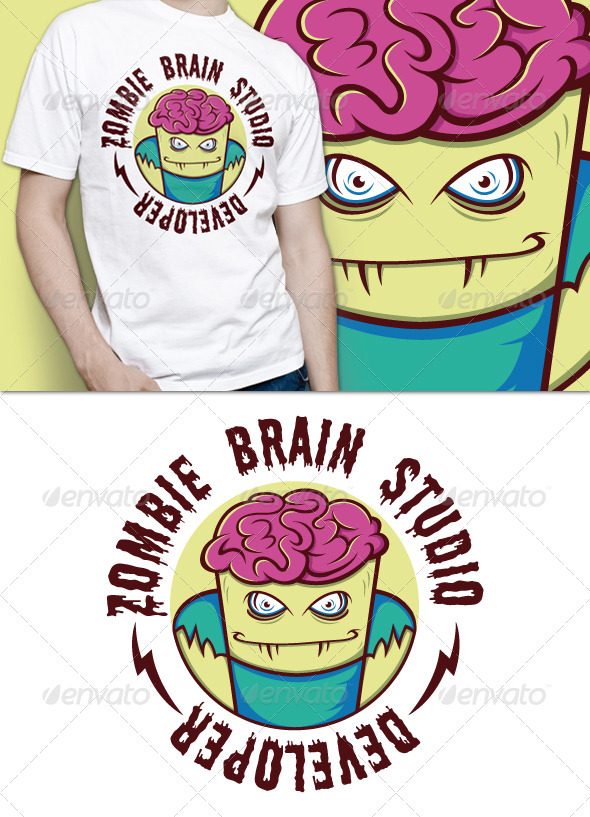 GraphicRiver Zombie T-Shirt 3519383