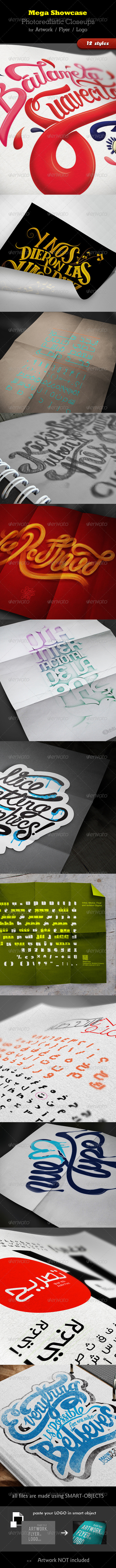 GraphicRiver Mega Showcase 3519536