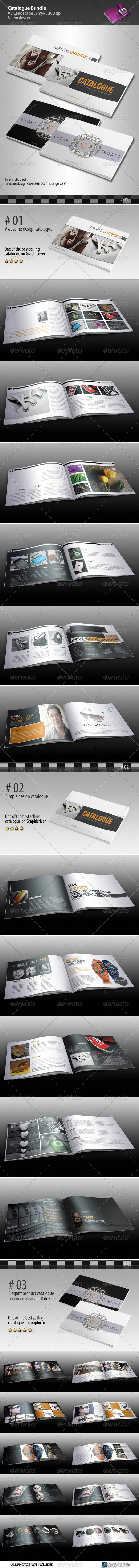 GraphicRiver Catalogue Bundle 3519540