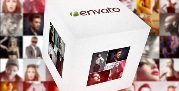 VideoHive Photo Cube Portfolio 3485753