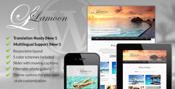 ThemeForest Lamoon Responsive WordPress Theme 3064132