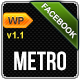 Metro Facebook Timeline Wordpress Template - ThemeForest Item for Sale