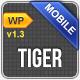 Tiger Mobile Template WordPress Version  Free Download
