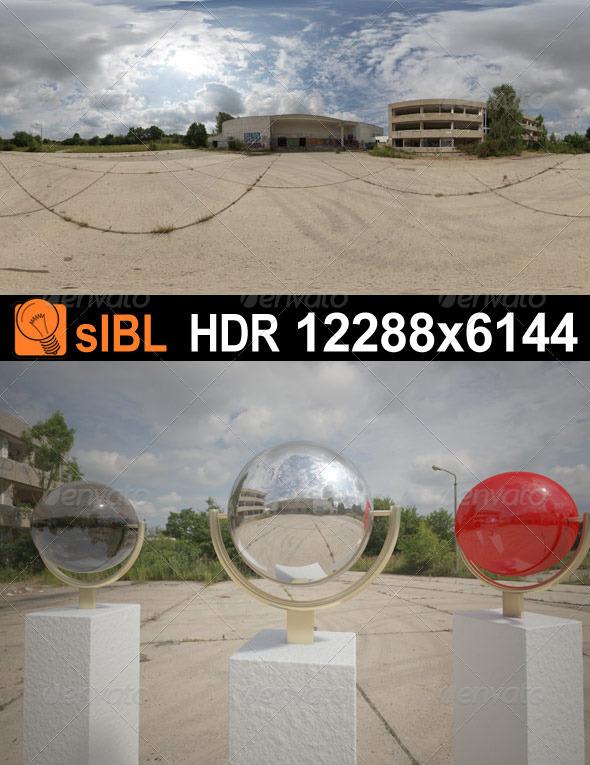 3DOcean HDR 075 Parking Lot sIBL 3522192
