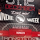 Indie Week Poster/Flyer Template - GraphicRiver Item for Sale