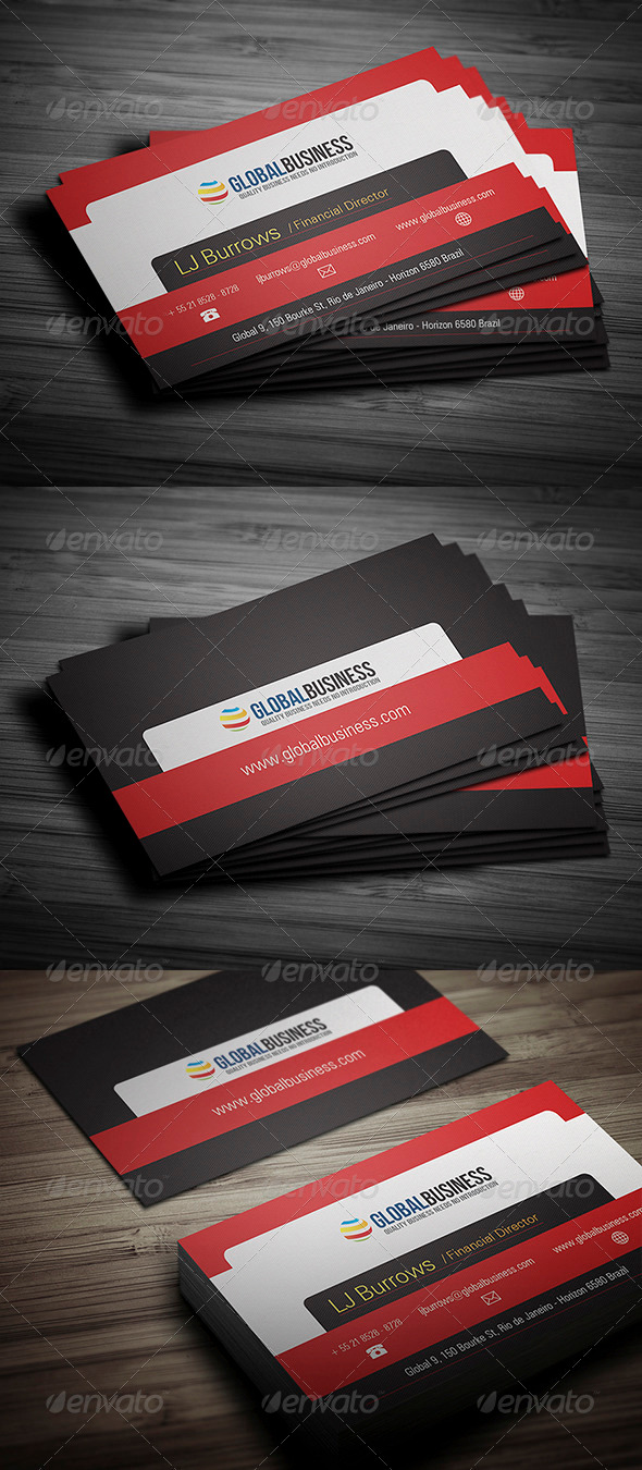 GraphicRiver Corporate Business Card 26 3522434