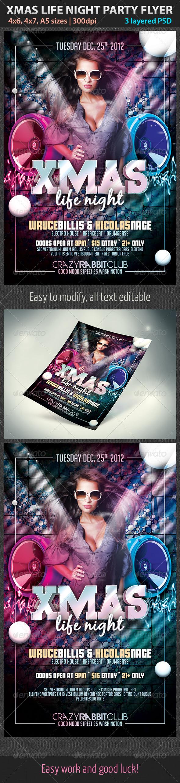 XMas Life Night - Holidays Events