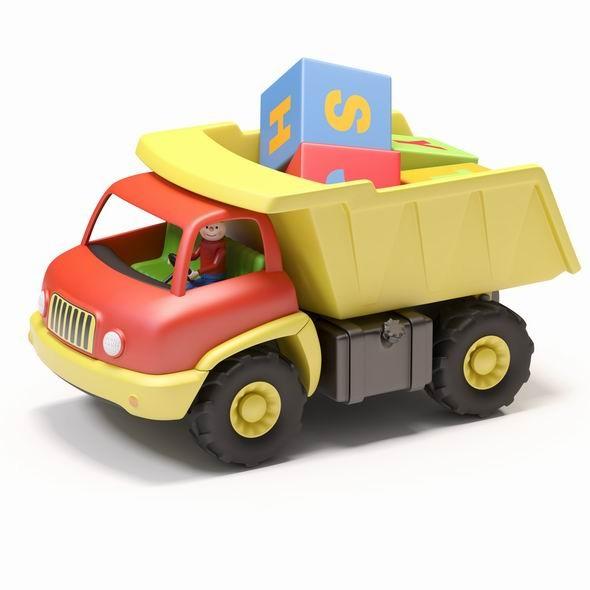 3DOcean Toy truck 3523544