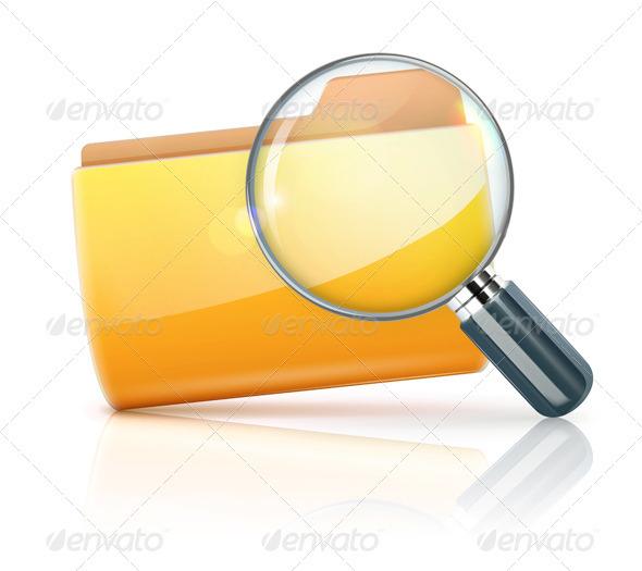 GraphicRiver Search Concept 3523649
