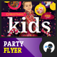 Unforgettable Kids Party Flyer - GraphicRiver Item for Sale